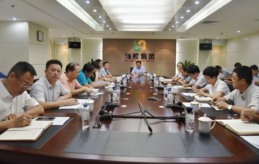 海胶集团首次召开党委班子信息交流沟通会