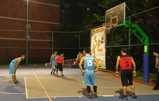 海垦设计院参加省土木学会篮球赛连胜6场顺利晋级