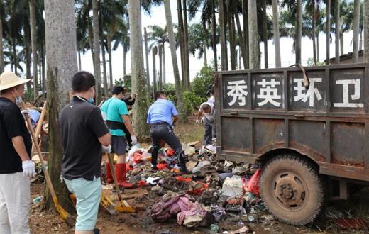 海垦商贸物流集团开展环境卫生整治主题党日活动